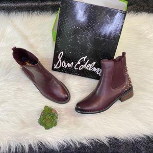 Sam Edelman studded ankle boots